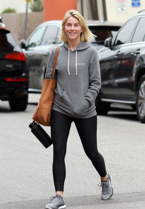 Julianne Hough in Tights - Hits the Gym in LA 05/15/2019