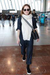Julianne Moore - Leaves From Nice Airport 05/19/2019