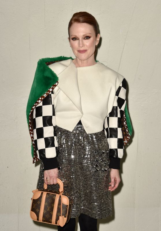 Julianne Moore – Louis Vuitton Cruise 2020 Fashion Show in NYC 05/08/2019