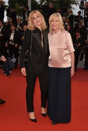 "Julie Gayet – ""The Best Years of a Life"" Red Carpet at Cannes Film Festival"
