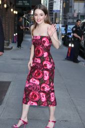 Kaitlyn Dever - Outside The Late Show with Stephen Colbert in NYC 05/22/2019