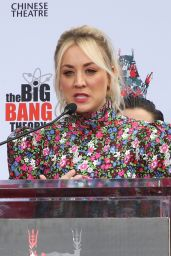 Kaley Cuoco - The Big Bang Theory Cast Handprint Ceremony at TCL Chinese Theater in Los Angeles 05/01/2019