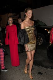 Karlie Kloss – Outside Gucci Met Gala After Party 05/06/2019