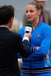 Karolina Pliskova – Roland Garros French Open 05/26/2019