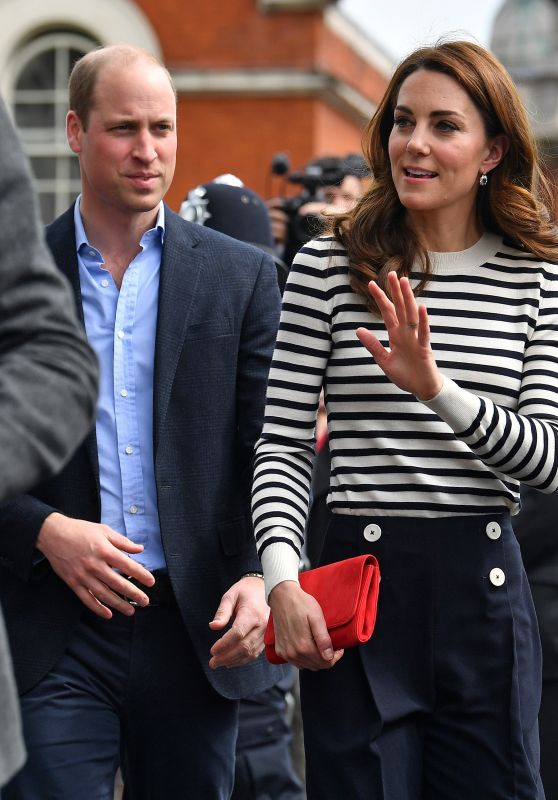 Kate Middleton and Prince William - King