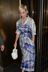 Katy Perry at Sexy Fish Restaurant in London 04/30/2019