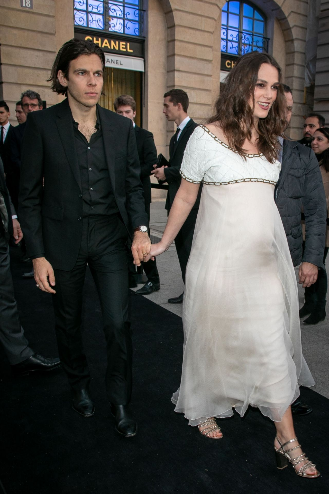 Keira Knightley Chanel J12 Cocktail Party In Paris 05 02