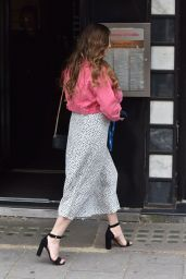 Kelly Brook - Arriving at Global Radio Studios in London 05/28/2019