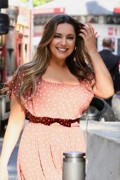 Kelly Brook - Leaving Global Radio Studios in London 05/14/2019