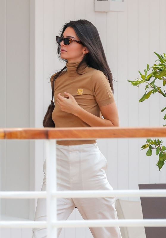 Kendall Jenner at Eden Roc Hotel in Antibes 05/23/2019