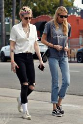 Kristen Stewart and Stella Maxwell - Out in Los Feliz 05/20/2019