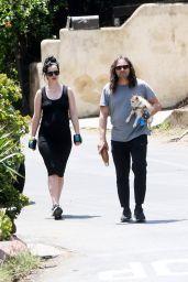 Krysten Ritter - Out for a Walk in LA 05/05/2019
