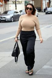 Lauren Goodger - Out in Mayfair, London 05/27/2019