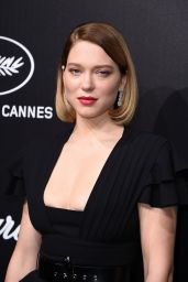Lea Seydoux – Official Trophée Chopard Dinner Photocall in Cannes 05/20/2019
