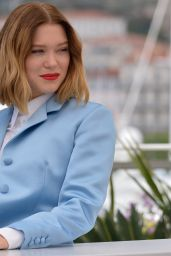 "Lea Seydoux - ""Roubaix, Une Lumiere (Oh Mercy!)"" Photocall at Cannes Film Festival"