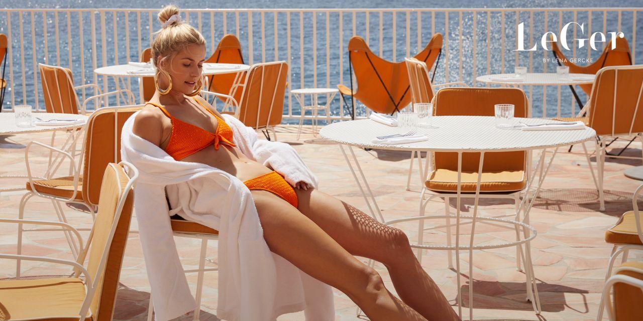 Lena Gercke Leger Cote D Azur Collection 2019 Photoshoot
