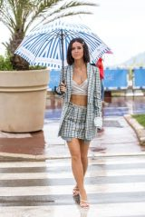 Lena Meyer-Landrut on the Croisette in Cannes 05/18/2019