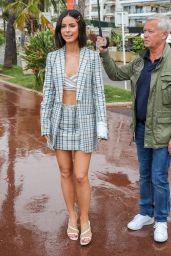 Lena Meyer-Landrut on the Croisette in Cannes 05/18/2019