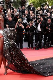 "Leomie Anderson – ""Once Upon a Time in Hollywood"" Red Carpet at Cannes Film Festival"