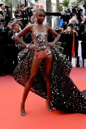 "Leomie Anderson – ""Once Upon a Time in Hollywood"" Red Carpet at Cannes Film Festival (more photos)"