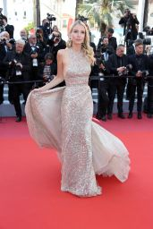 """Leonie Hanne – """"The Traitor"""" Red Carpet at Cannes Film Festival"""