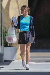 Lily-Rose Depp in Mini Skirt - Out in Beverly Hills 05/20/2019