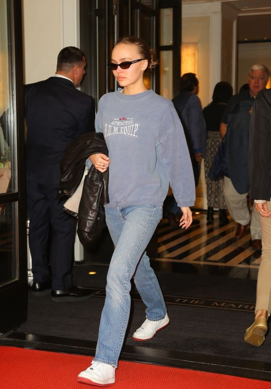 Lily-Rose Depp - Leaving the Mark Hotel in NYC 05/07/2019
