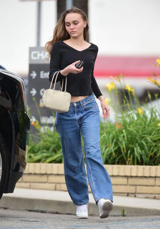 Lily-Rose Depp Street Style 05/23/2019