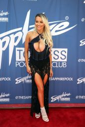 Lindsey Pelas - Sapphire Topless Pool and Dayclub in Las Vegas 05/25/2019
