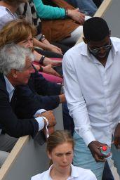 Lindsey Vonn at the Roland Garros French Open in Paris 05/30/2019