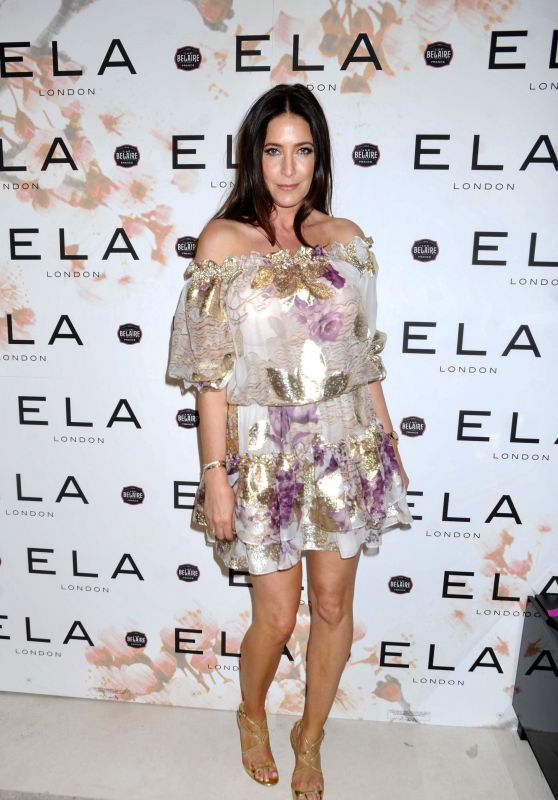 Lisa Snowdon - Ela Store Launch Party in London 05/15/2019