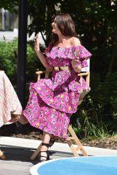Lisa Snowdon - Filming Outside ITV Studios in London 05/14/2019