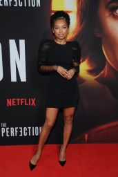 "Logan Browning – ""The Perfection"" Screening in NYC"