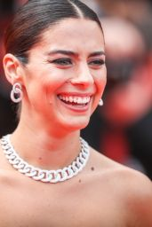 "Lorenza Izzo – ""Once Upon a Time in Hollywood"" Red Carpet at Cannes Film Festival"