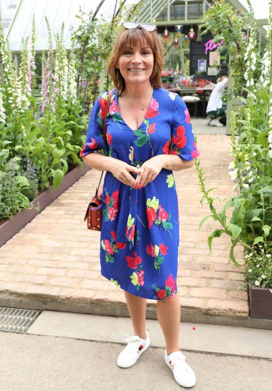 Lorraine Kelly - RHS Chelsea Flower Show 2019 in London
