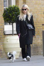 Lottie Moss - Walking Her Dog in London 05/07/2019