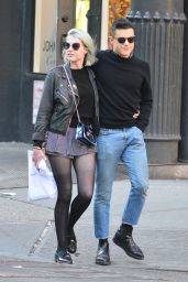 Lucy Boynton and Rami Malek - Out in New York 05/08/2019