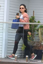 Lucy Hale at Le Jolie Medi Spa in West Hollywood 05/13/2019