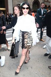 Lucy Hale - Leaves the CW Upfront in NYC 05/16/2019