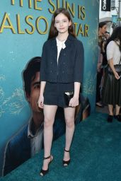 "Mackenzie Foy – ""The Sun Is Also A Star"" Premiere in LA"