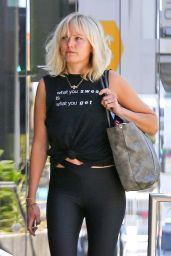 Malin Akerman - Arriving at the Gym in West Hollywood 05/21/2019