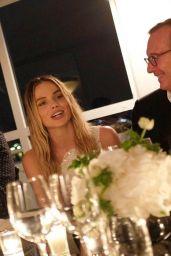 Margot Robbie - Chanel Dinner in Cannes 05/22/2019