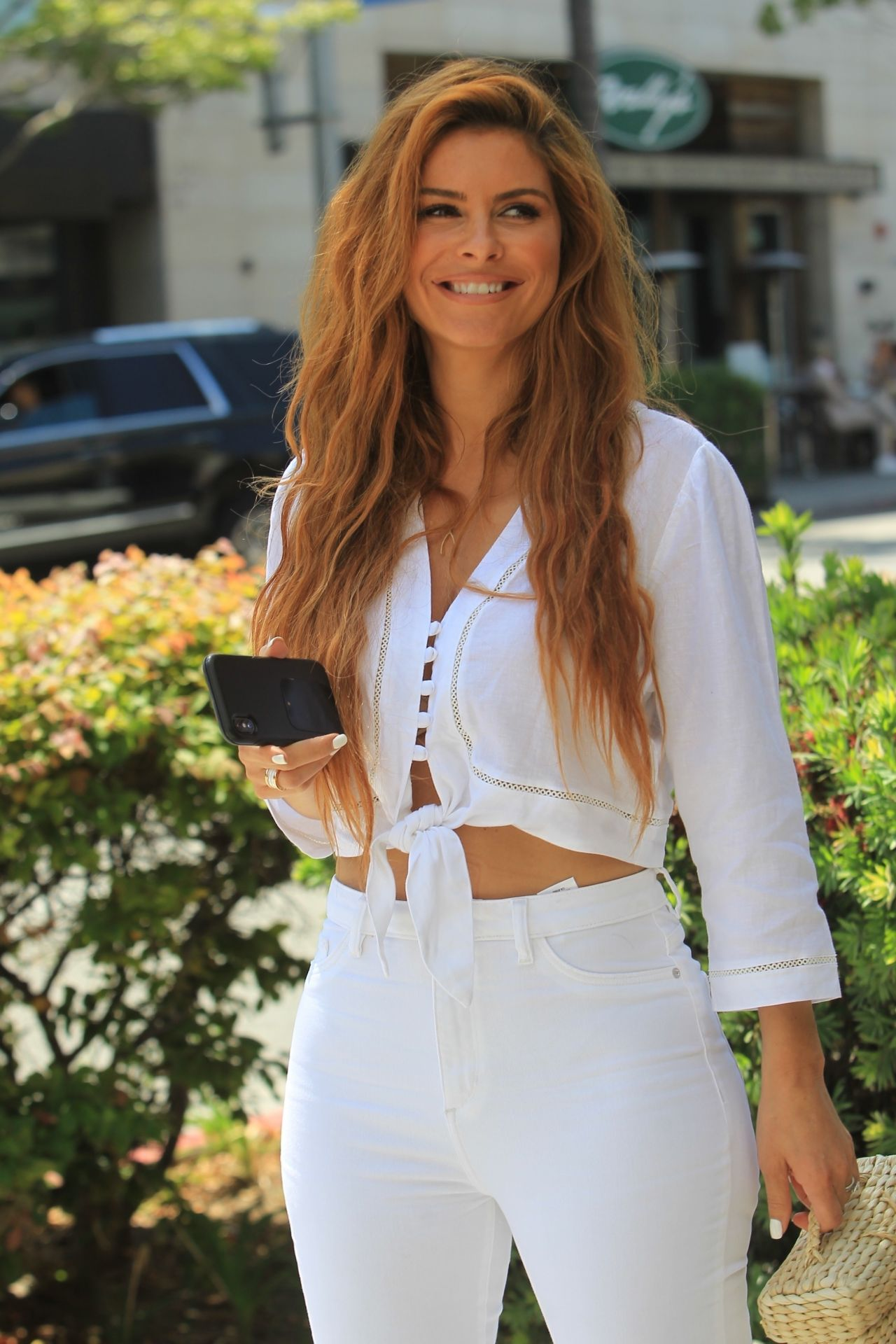 Maria Menounos Style - Out in Beverly Hills 05/30/2019