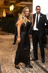 Mariah Carey - Outside the Martinez Hotel in Cannes 05/17/2019