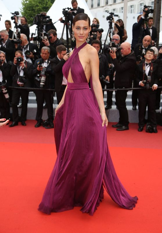 "Marica Pellegrinelli - ""The Best Years of a Life"" Red Carpet at Cannes Film Festival"