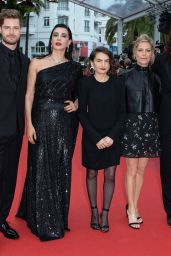 "Marina Fois – ""Sibyl"" Red Carpet at Cannes Film Festival"