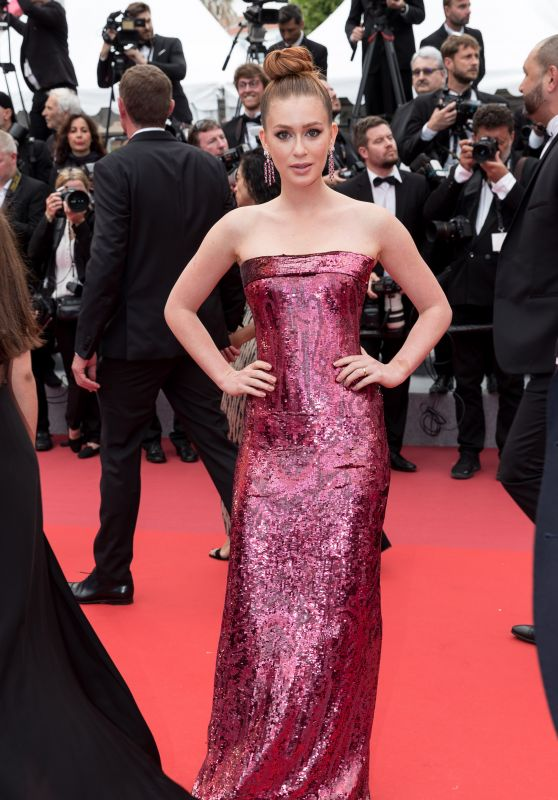 "Marina Ruy Barbosa – ""Oh Mercy!"" Red Carpet at Cannes Film Festival"