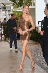 Martha Hunt - Arriving Back at the Martinez Hotel in Cannes 05/18/2019