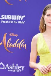 "Meghann Fahy – ""Aladdin"" Premiere in Hollywood"