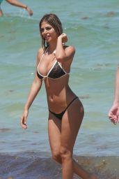 Melissa Castagnoli in Bikini at the Beach in Miami Beach 05/20/2019